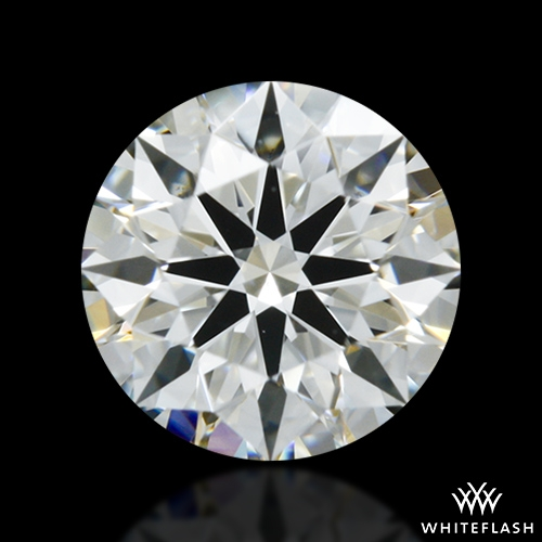 0.517 ct I VS2 A CUT ABOVE® Hearts and Arrows Super Ideal Round Cut Loose Diamond