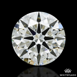 0.521 ct I SI1 A CUT ABOVE® Hearts and Arrows Super Ideal Round Cut Loose Diamond