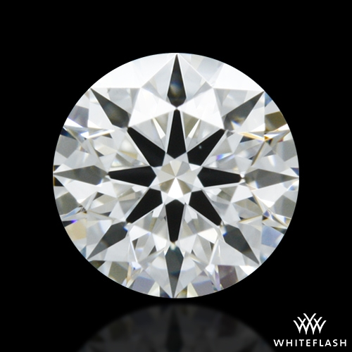 0.413 ct G VS2 A CUT ABOVE® Hearts and Arrows Super Ideal Round Cut Loose Diamond