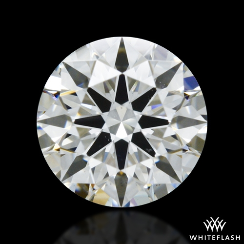 0.413 ct H VS2 A CUT ABOVE® Hearts and Arrows Super Ideal Round Cut Loose Diamond