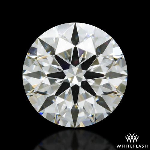 0.528 ct I VS2 A CUT ABOVE® Hearts and Arrows Super Ideal Round Cut Loose Diamond
