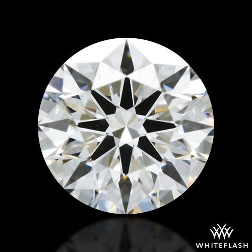 0.776 ct F VS1 A CUT ABOVE® Hearts and Arrows Super Ideal Round Cut Loose Diamond