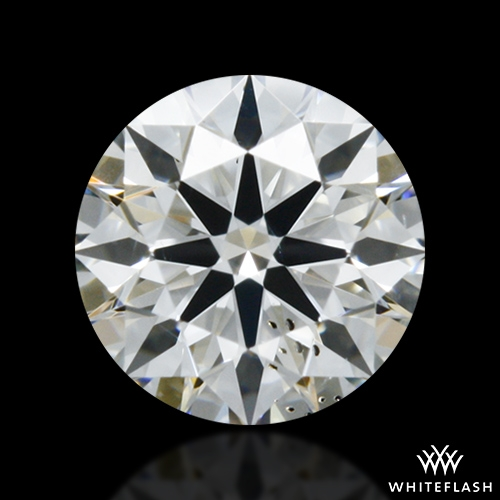 0.307 ct G SI1 A CUT ABOVE® Hearts and Arrows Super Ideal Round Cut Loose Diamond