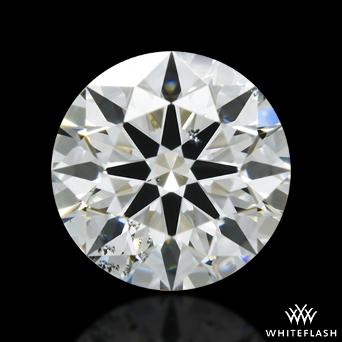 0.505 ct G SI1 A CUT ABOVE® Hearts and Arrows Super Ideal Round Cut Loose Diamond