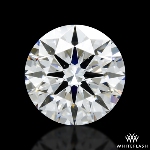 0.806 ct D VS2 A CUT ABOVE® Hearts and Arrows Super Ideal Round Cut Loose Diamond