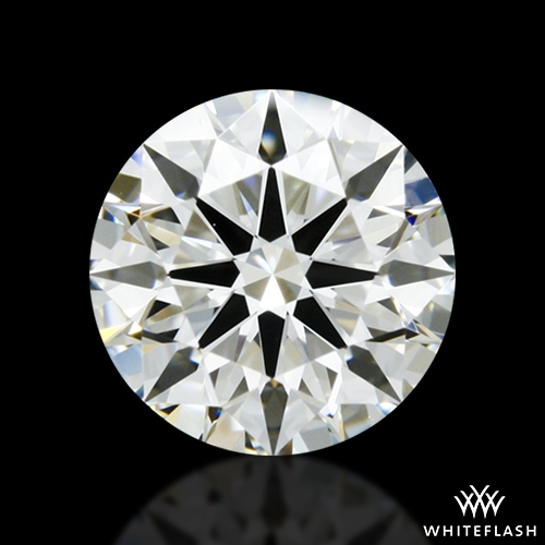 0.904 ct I VS1 A CUT ABOVE® Hearts and Arrows Super Ideal Round Cut Loose Diamond