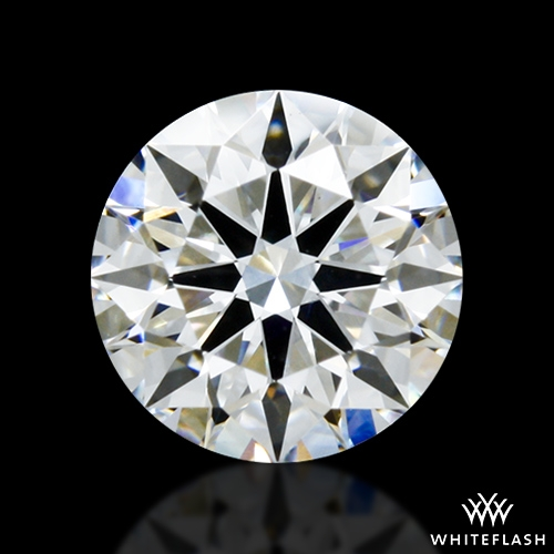 0.823 ct E VS2 A CUT ABOVE® Hearts and Arrows Super Ideal Round Cut Loose Diamond