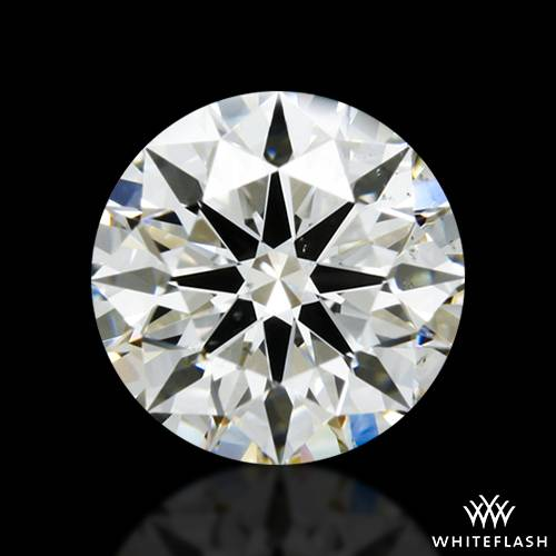 1.114 ct J SI1 A CUT ABOVE® Hearts and Arrows Super Ideal Round Cut Loose Diamond