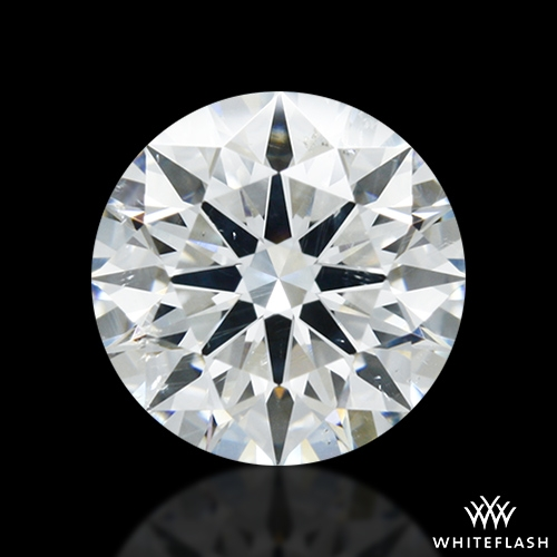 1.408 ct H SI2 A CUT ABOVE® Hearts and Arrows Super Ideal Round Cut Loose Diamond