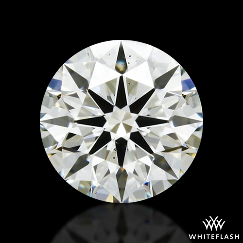 1.038 ct K SI1 A CUT ABOVE® Hearts and Arrows Super Ideal Round Cut Loose Diamond