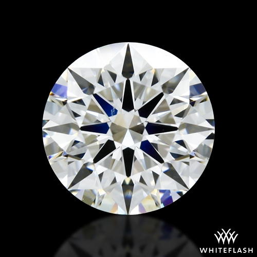 1.36 ct D VS1 A CUT ABOVE® Hearts and Arrows Super Ideal Round Cut Loose Diamond