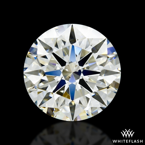 1.423 ct K VS2 A CUT ABOVE® Hearts and Arrows Super Ideal Round Cut Loose Diamond