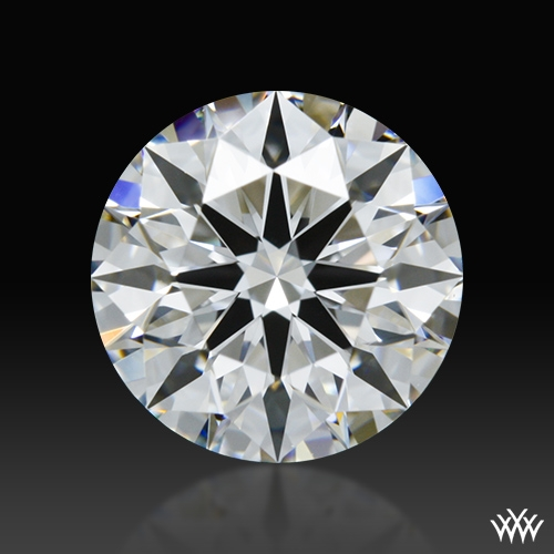 1.118 ct D VVS2 A CUT ABOVE® Hearts and Arrows Super Ideal Round Cut Loose Diamond