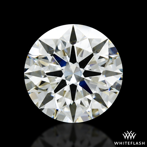 1.704 ct I SI1 A CUT ABOVE® Hearts and Arrows Super Ideal Round Cut Loose Diamond
