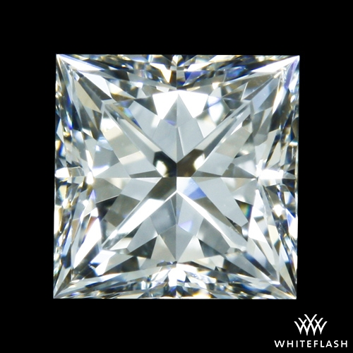 0.527 ct F VS2 A CUT ABOVE® Princess Super Ideal Cut Diamond