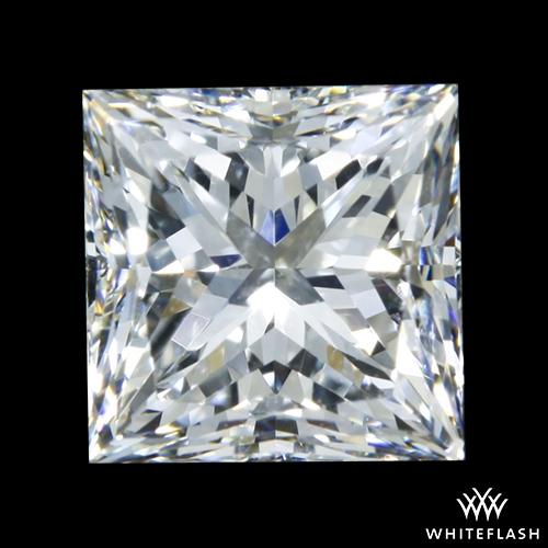 1.146 ct H VS2 A CUT ABOVE® Princess Super Ideal Cut Diamond