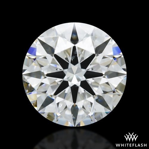 0.752 ct F SI1 A CUT ABOVE® Hearts and Arrows Super Ideal Round Cut Loose Diamond