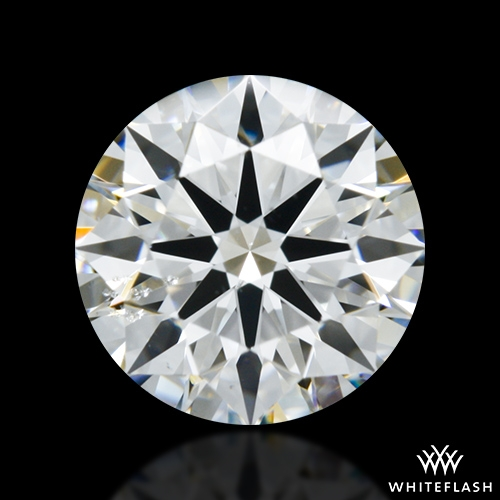 0.724 ct G SI1 A CUT ABOVE® Hearts and Arrows Super Ideal Round Cut Loose Diamond