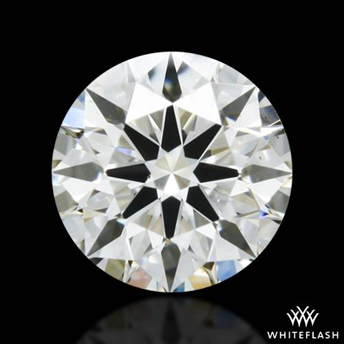 0.334 ct I VS2 A CUT ABOVE® Hearts and Arrows Super Ideal Round Cut Loose Diamond