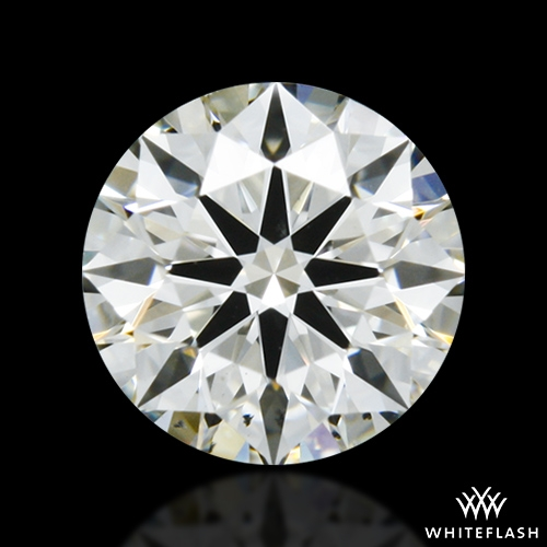 0.607 ct I SI1 A CUT ABOVE® Hearts and Arrows Super Ideal Round Cut Loose Diamond