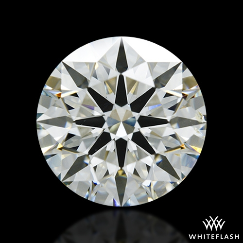 2.038 ct K SI1 A CUT ABOVE® Hearts and Arrows Super Ideal Round Cut Loose Diamond
