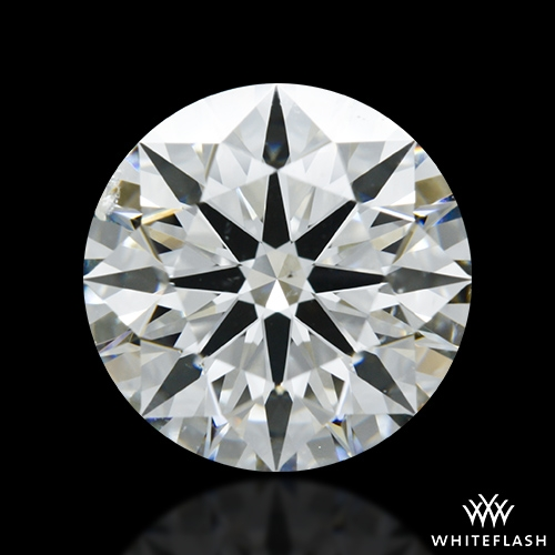 2.098 ct H SI1 A CUT ABOVE® Hearts and Arrows Super Ideal Round Cut Loose Diamond