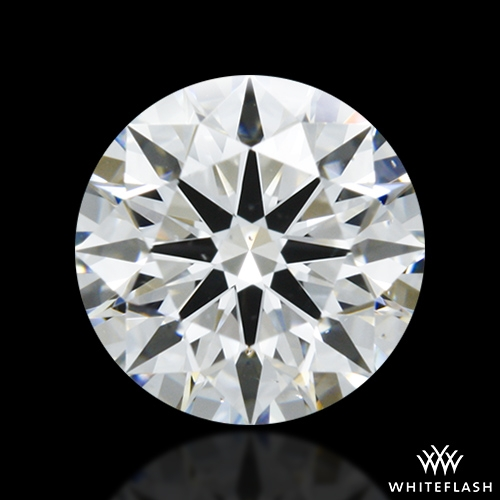 0.727 ct D SI1 A CUT ABOVE® Hearts and Arrows Super Ideal Round Cut Loose Diamond