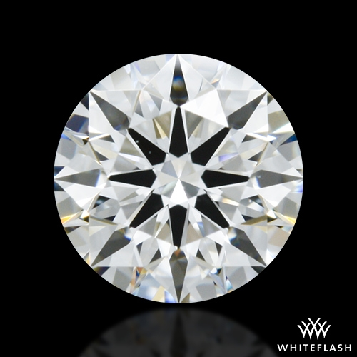 0.708 ct F VVS2 A CUT ABOVE® Hearts and Arrows Super Ideal Round Cut Loose Diamond