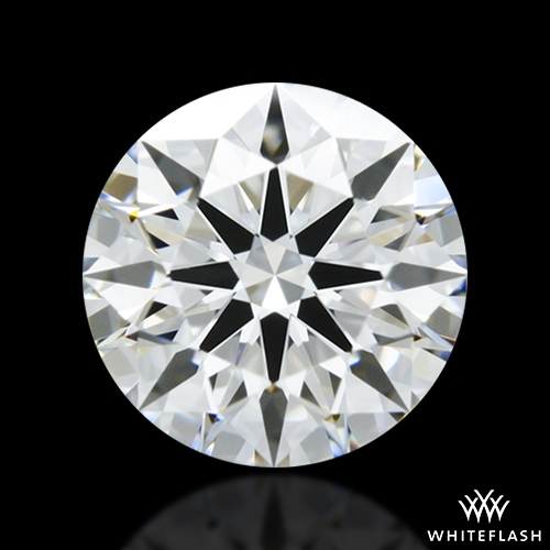 0.826 ct E VVS1 A CUT ABOVE® Hearts and Arrows Super Ideal Round Cut Loose Diamond