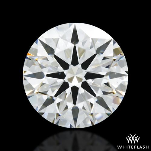 1.256 ct G VS2 A CUT ABOVE® Hearts and Arrows Super Ideal Round Cut Loose Diamond