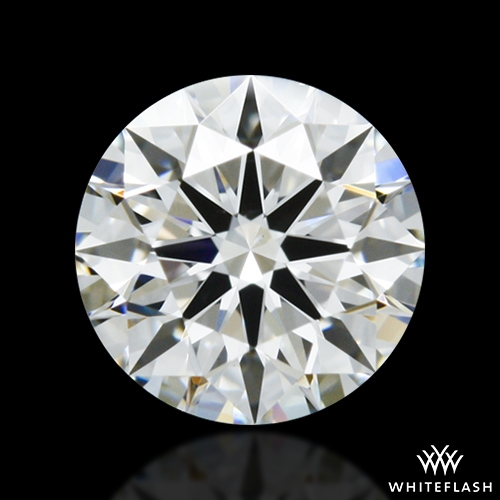 0.542 ct G VS1 A CUT ABOVE® Hearts and Arrows Super Ideal Round Cut Loose Diamond