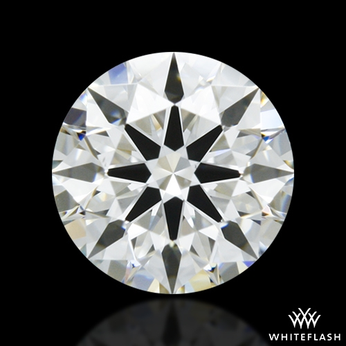 0.701 ct I VS2 A CUT ABOVE® Hearts and Arrows Super Ideal Round Cut Loose Diamond