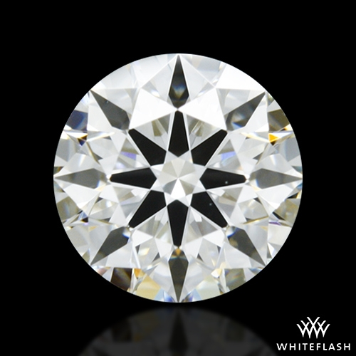 0.805 ct H VS2 A CUT ABOVE® Hearts and Arrows Super Ideal Round Cut Loose Diamond
