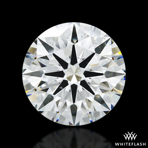 2.347 ct H SI1 A CUT ABOVE® Hearts and Arrows Super Ideal Round Cut Loose Diamond