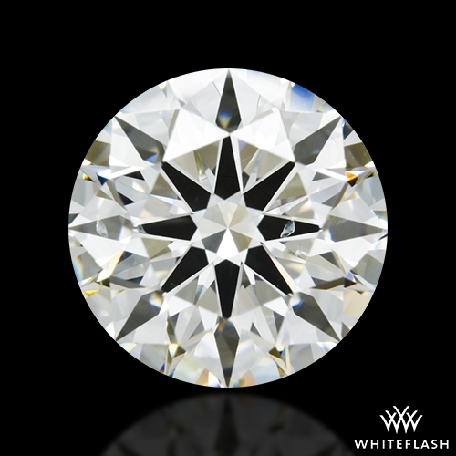 2.816 ct J SI1 A CUT ABOVE® Hearts and Arrows Super Ideal Round Cut Loose Diamond