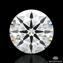 1.554 ct G SI1 A CUT ABOVE® Hearts and Arrows Super Ideal Round Cut Loose Diamond