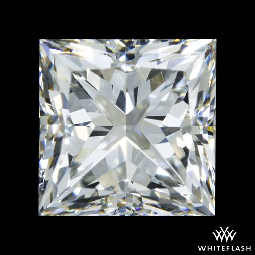 0.523 ct F VVS1 A CUT ABOVE® Princess Super Ideal Cut Diamond