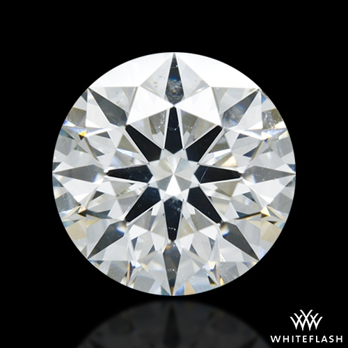 2.142 ct I SI1 A CUT ABOVE® Hearts and Arrows Super Ideal Round Cut Loose Diamond