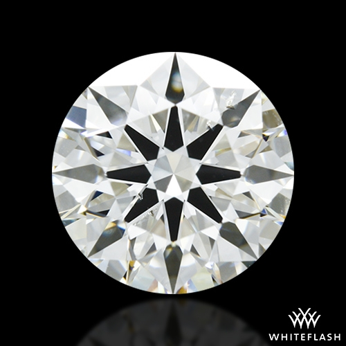 1.84 ct J SI1 A CUT ABOVE® Hearts and Arrows Super Ideal Round Cut Loose Diamond