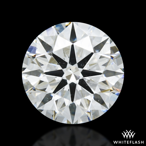 1.318 ct H SI1 A CUT ABOVE® Hearts and Arrows Super Ideal Round Cut Loose Diamond