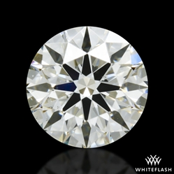 0.435 ct J SI1 A CUT ABOVE® Hearts and Arrows Super Ideal Round Cut Loose Diamond