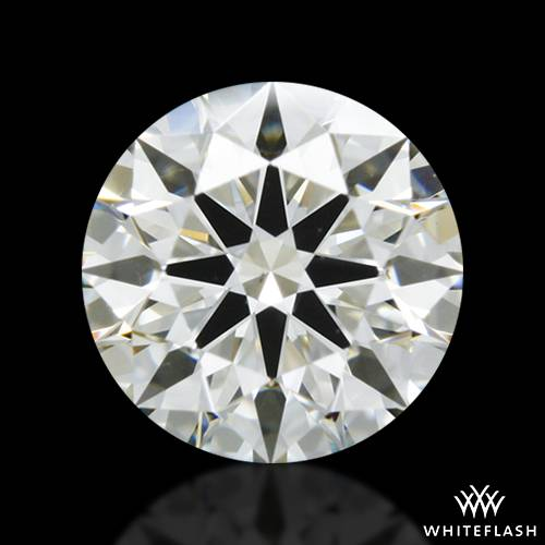 0.542 ct J VS2 A CUT ABOVE® Hearts and Arrows Super Ideal Round Cut Loose Diamond