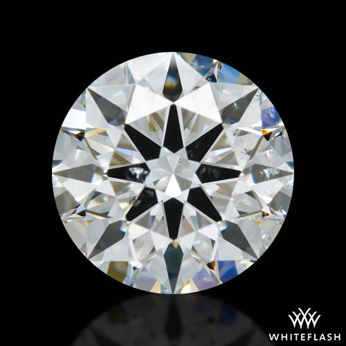 0.804 ct G SI1 A CUT ABOVE® Hearts and Arrows Super Ideal Round Cut Loose Diamond