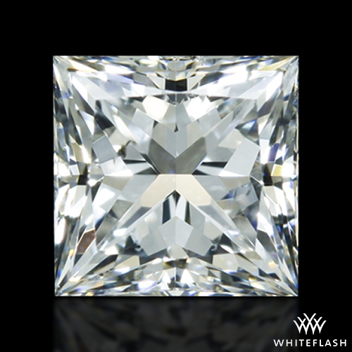 0.52 ct F SI1 A CUT ABOVE® Princess Super Ideal Cut Diamond