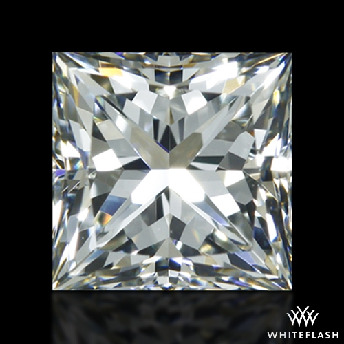 0.687 ct I VS1 A CUT ABOVE® Princess Super Ideal Cut Diamond