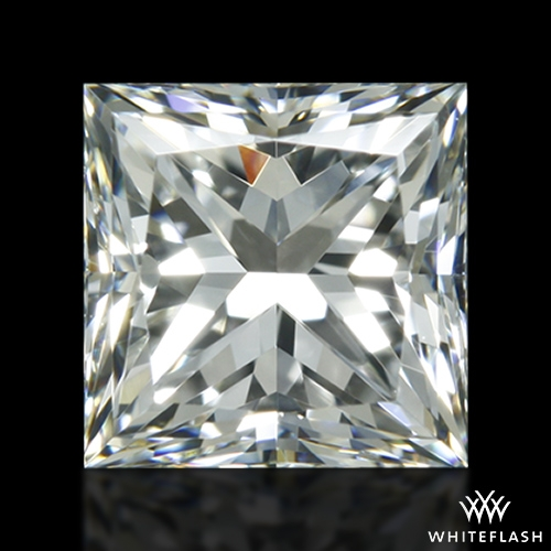 0.858 ct H VS1 A CUT ABOVE® Princess Super Ideal Cut Diamond