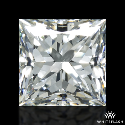 0.902 ct H VS2 A CUT ABOVE® Princess Super Ideal Cut Diamond