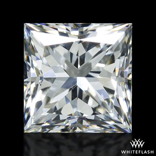 0.921 ct F VS1 A CUT ABOVE® Princess Super Ideal Cut Diamond
