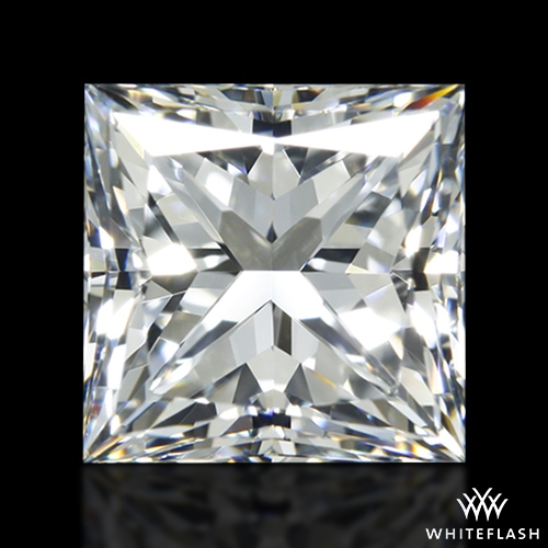 1.526 ct F VVS1 A CUT ABOVE® Princess Super Ideal Cut Diamond