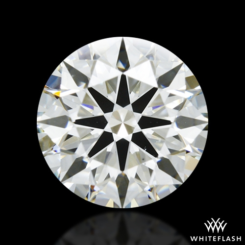 1.318 ct I VS2 A CUT ABOVE® Hearts and Arrows Super Ideal Round Cut Loose Diamond